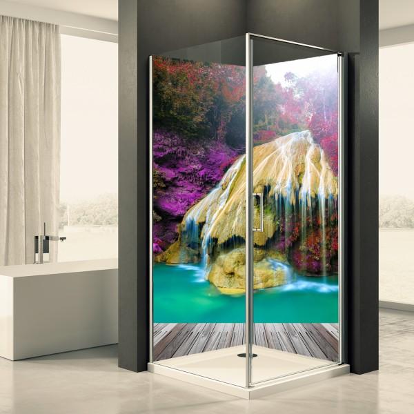 Duschrückwand Motiv 0040 Wasserfall Thailand