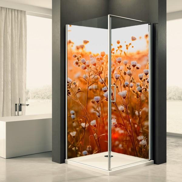 Duschrückwand Motiv 0015 Herbstblume