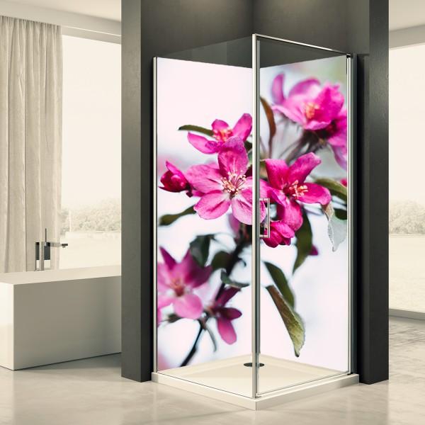 Duschrückwand Motiv 0066 Baumblüte 2